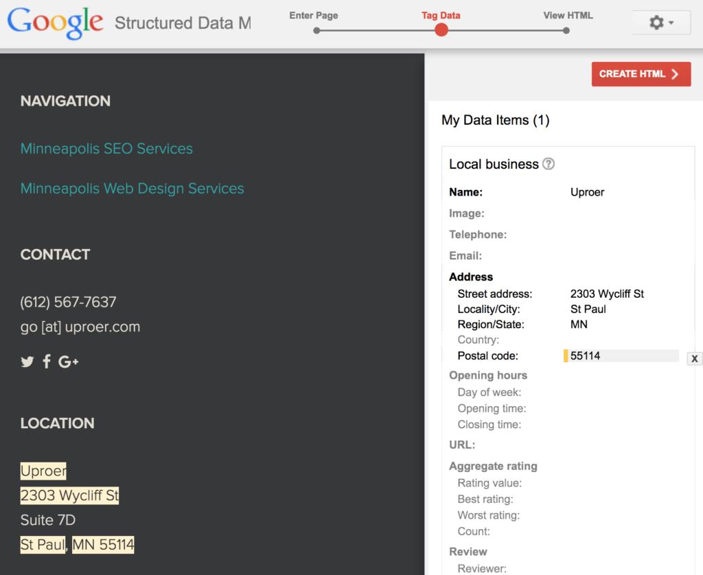 assistant de données structuré de google