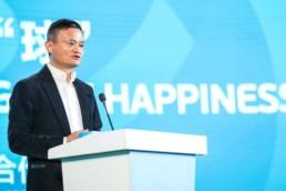 Le milliardaire chinois Jack Ma et l'IA