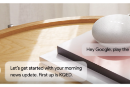 Informations avec Assistant vocal Google Home